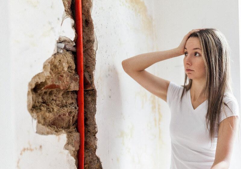 quitar humedad de paredes fontaneria