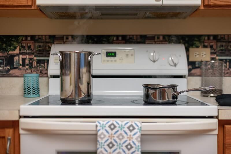 humedad en la cocina