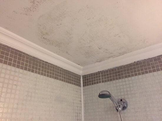 eliminar la humedad del baño