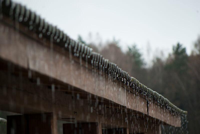 filtraciones de agua de lluvia